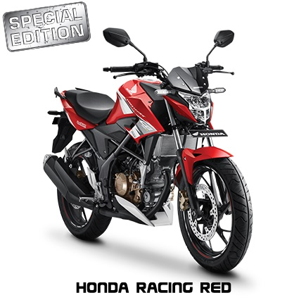 New Honda CB150R Streetfire Special Edition Warna Honda racing RED 2017