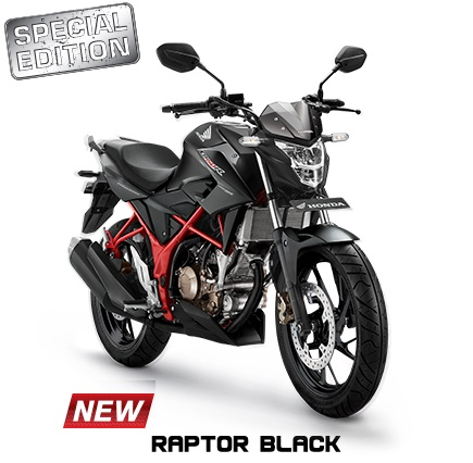 New Honda CB150R Streetfire Special Edition Warna Raptor Black 2017