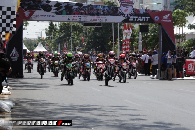Start Honda Dream Cup 2017 Semarang