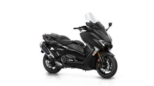 Studio Yamaha New TMAX Warna Hitam Liquid Darkness MY 2018 p7