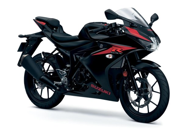 Suzuki GSX-R125 ABS UK Warna Hitam p7