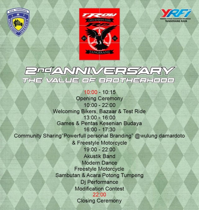 Tangerang R15 Owners 2nd Anniversary