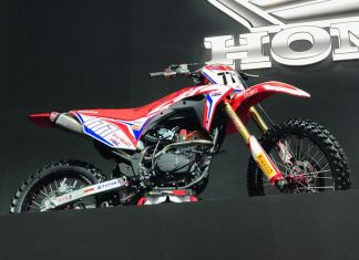 Trail Honda CRF 150 Indonesia