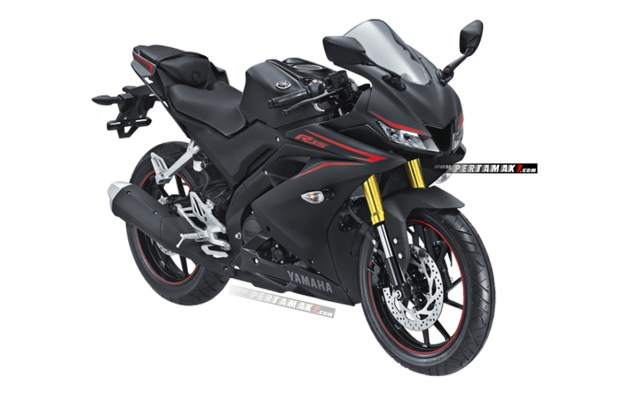 Yamaha All New R15 Hitam Upside Down Warna Emas