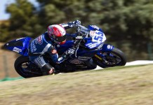 Galang Hendra Pratama riding Yamaha YZF-R3 di World Supersport 300 seri Portugal (2)