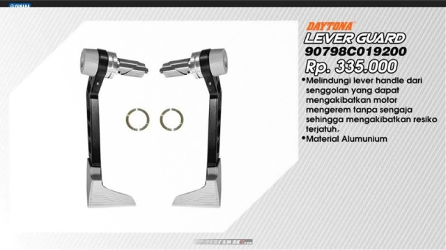 Lever Hand Guard Yamaha All New Vixion R P7