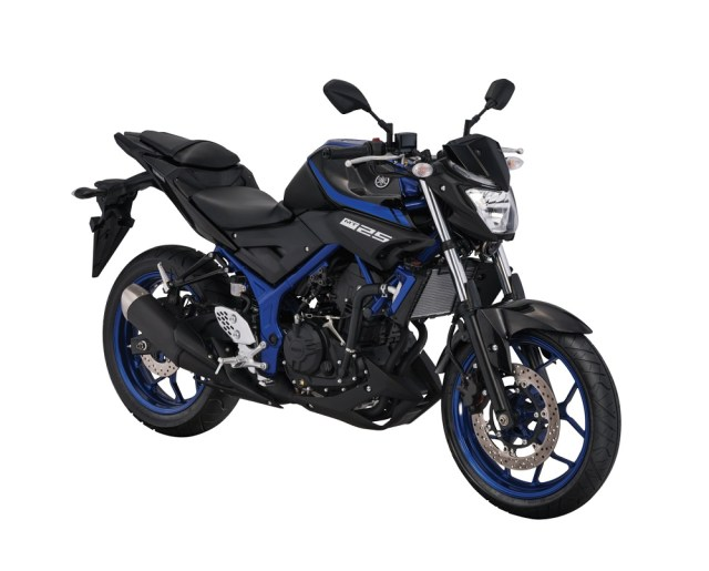 Yamaha MT-25 Blue Metalic edisi 2018