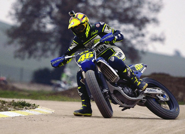 valentino rossi ranch tavullia Supermoto Training