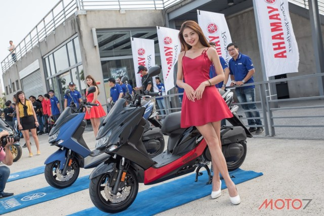 Model Yamaha SMAX 155 ABS LED Taiwan 09 P7