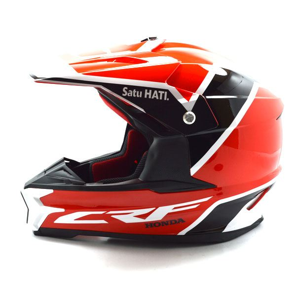 Samping Kiri Aksesoris Helm Honda CRF150L Trail Indonesia