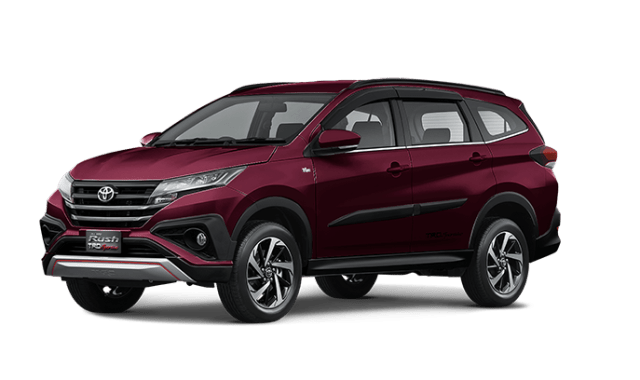 All new Toyota Rush 2018 Warna Bordeaux Mica