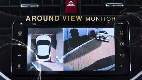 Around View Monitor All New Daihatsu Terios 2018