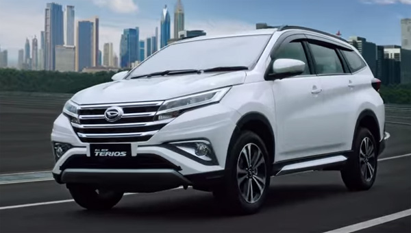 Depan Kiri All New Daihatsu Terios 2018