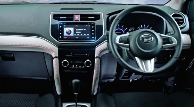 Interior All New Daihatsu Terios 2018