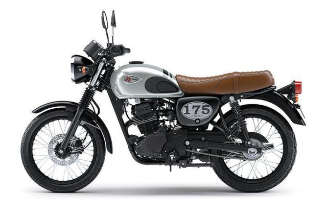 Kawasaki W175 Special Edition Warna New Silver