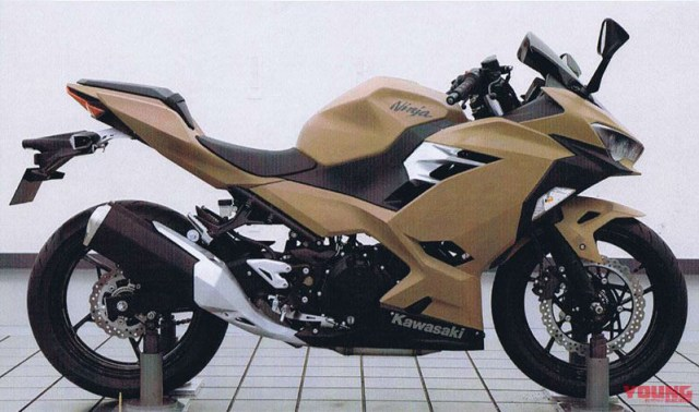 Clay Model Kawasaki All new Ninja 250 FI Body Tanah Liat