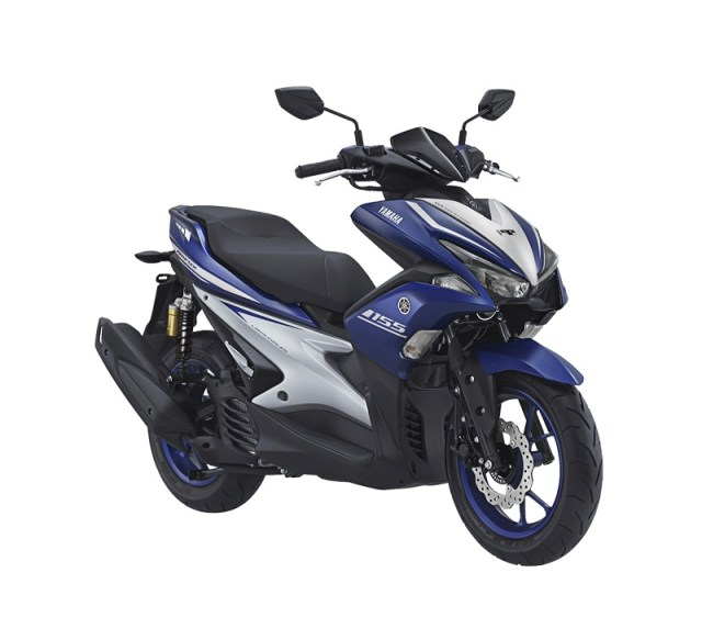 Yamaha Aerox 155VVA - R Version Racing Blue