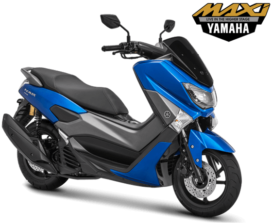 Yamaha NMAX Non ABS STD Model 2018 Warna Biru