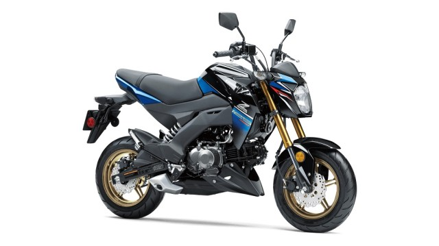 Kawasaki Z125 PRO SE COLORS CANDY PLASMA BLUEMETALLIC SPARK BLACK