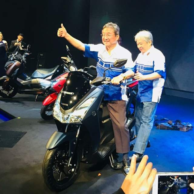 Launching Yamaha Lexi 125 VVA 9 p7