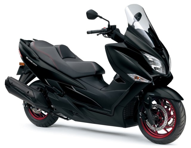 Suzuki Burgman 400 Black Red