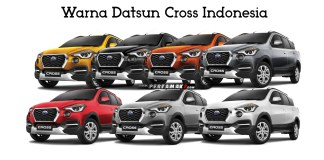 Warna Datsun Cross Indonesia