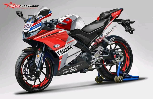 Yamaha All new R15 Livery Ducati GP.18 Warna Merah