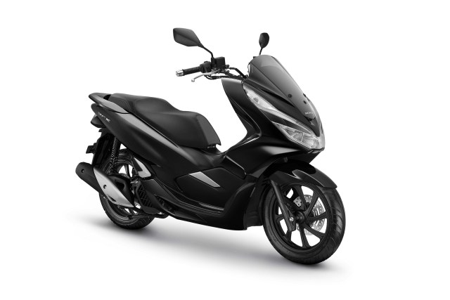 All New Honda PCX 150 Warna Brilliant Black