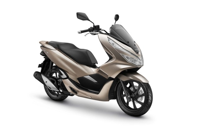 All New Honda PCX 150 Warna Glamour Gold