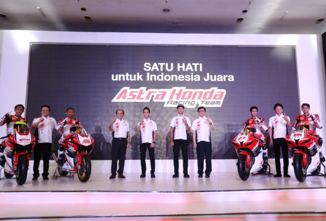 Pebalap Astra Honda Racing Team AHM 2018