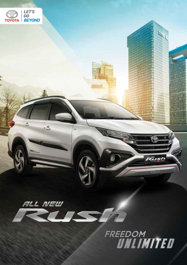 Harga Toyota All New Rush Freedom Unlimited