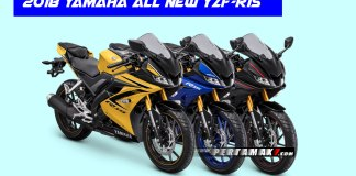 Warna Yamaha All New R15 Versi 2018 Terbaru