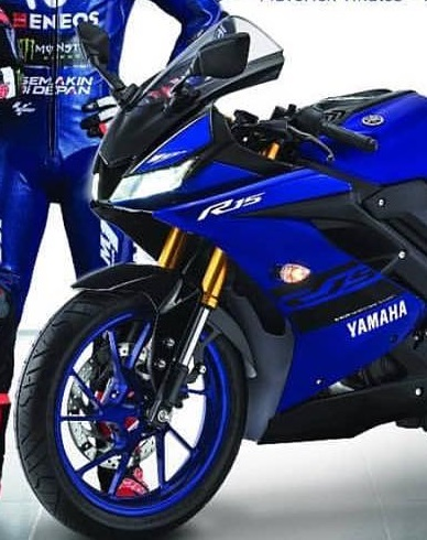 Yamaha All new R15 Upside Down Cat Emas