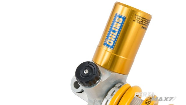 Compression Knob OHLINS STX 36 Supersport Honda CBR250RR detail