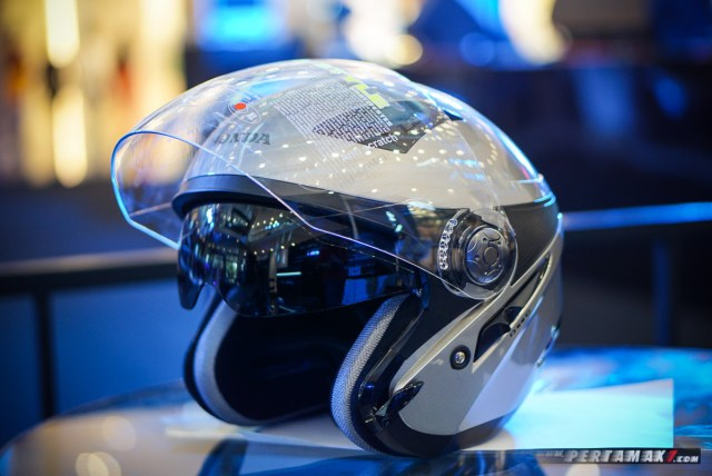 double visor MDS Zarra Honda Luxury helmet
