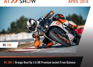 KTM Indonesia IIMS 2018 Promo RC200