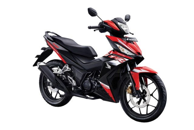 Honda Supra GTR 150 Red Black 2018