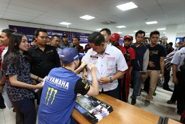 Monster Energy Yamaha Factory Team MXGP di Semarang