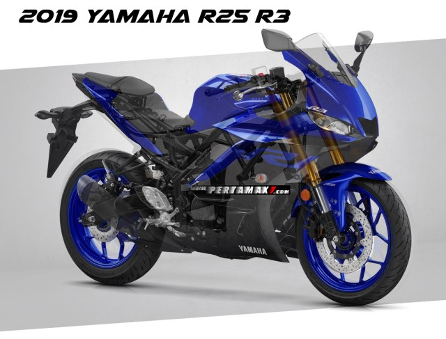 Rangka Yamaha New R25 Facelift 2019 Upside Down