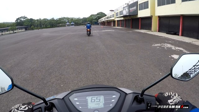 Review Yamaha FreeGO S ABS Sentul Lurus