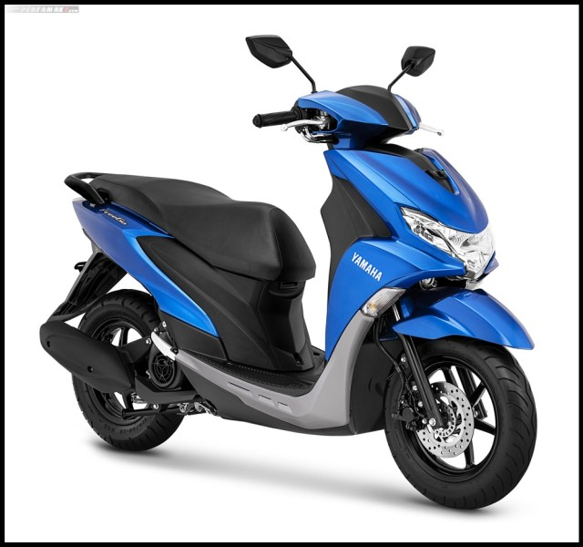 Yamaha FreeGo Metallic Blue