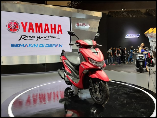 Yamaha FreeGo di event Indonesia Motorcycle Show (IMOS) 2018