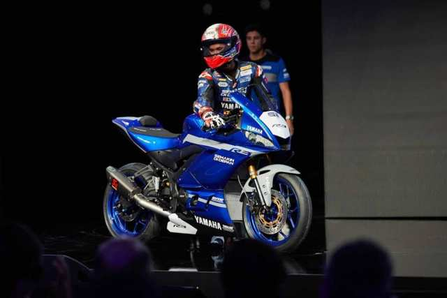launching Yamaha New R3 WSSP300