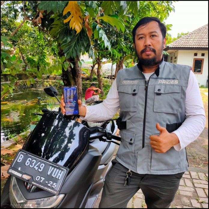 Konsumen Yamaha All New NMAX ABS Connected 2020
