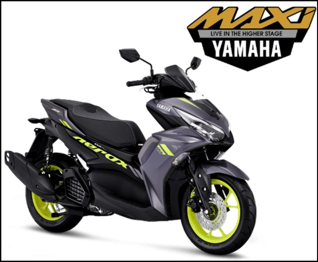 Yamaha All New Aerox 155 Connected Facelift 2021