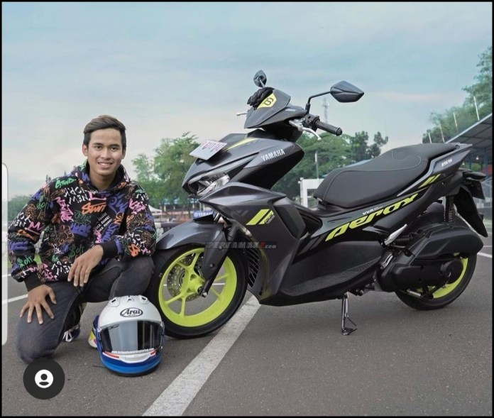 Yamaha Aerox 155 Connected The Best Sporty Scooter Galang Hendra