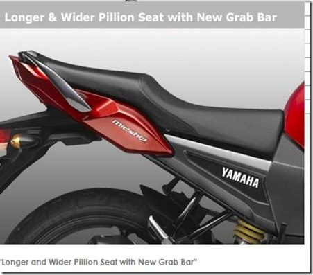 yamaha fz16 seat