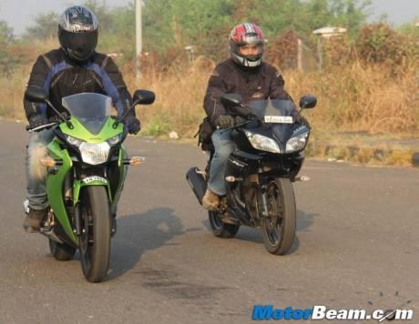 Honda CBR150R VS Yamaha YZF-R15