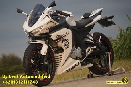 Modifikasi Yamaha New Vixion Full Fairing by Lent Automodified 0