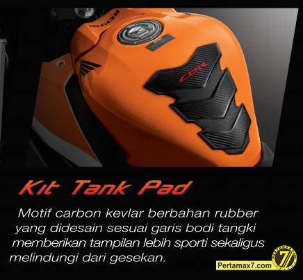 tank pad all new honda CBr150R